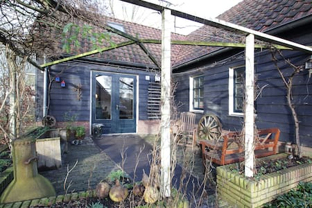 Charming Barnhouse near Utrecht + P - House
