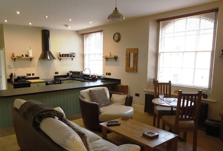 Luxury one-bedroom holiday apartment with log fire - Alnwick - 公寓