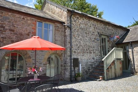 The Tall Barn, West Venn Holiday Cottages, Devon - Ashwater
