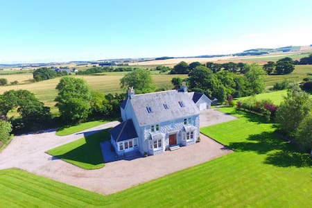 Large, beautiful country house 2 - Inverurie - Huis