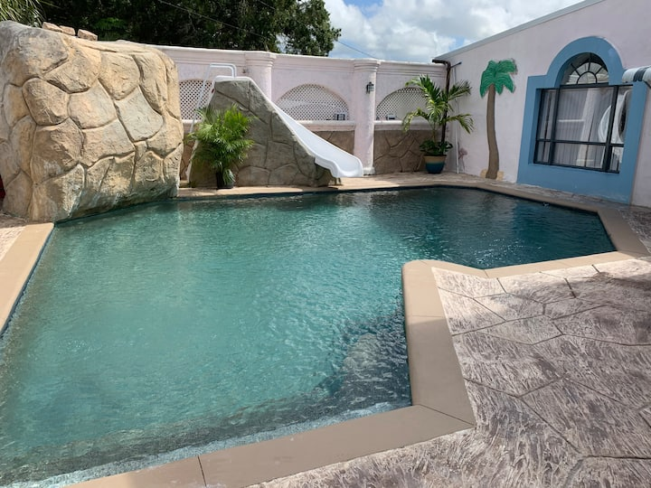 Comfy In-law suite with pool in central location!!