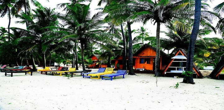 Spacious Beach front Cabana in Trincomalee