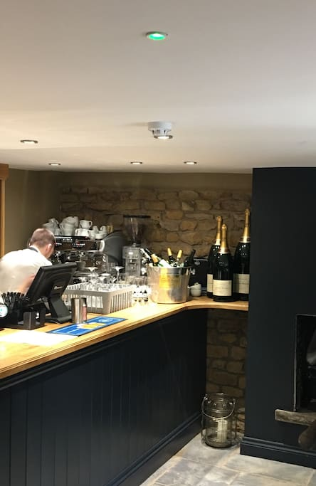 New refurbished bar at village pub