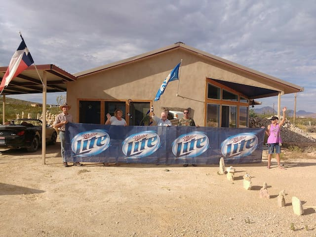 The Miller Lite House