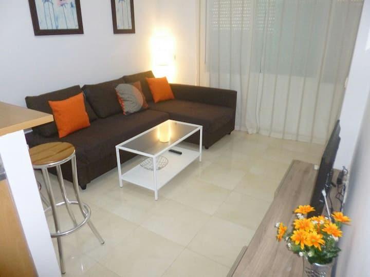 Apartamento céntrico a 150m de la playa Torrecilla