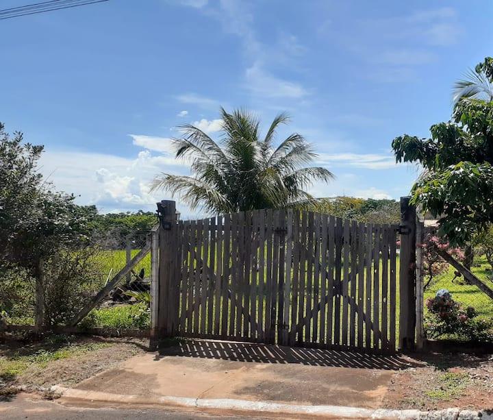 Rancho Acolhedor em Rubineia, próximo Rio Paraná