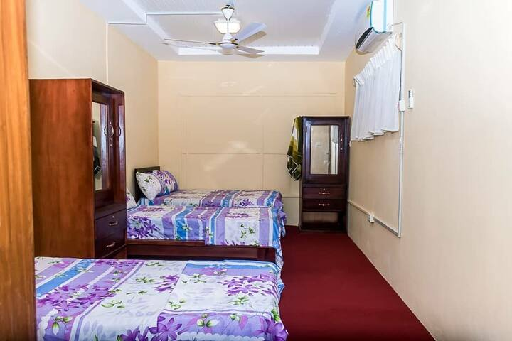 **Cosy Family Room or Fun Dorm for 4 people**