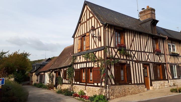 Maison normande dans un cadre exceptionnel