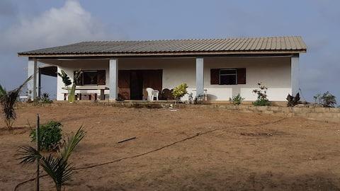 Abéné ( Sénégal) Maison meublée au bord de mer