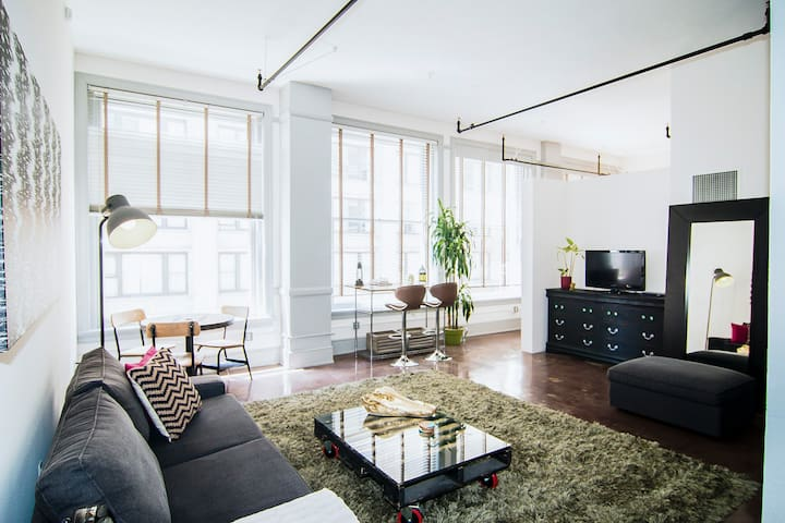 BEST Downtown Loft on Airbnb!