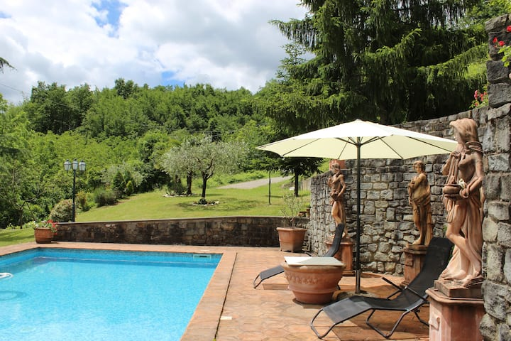 Villa Toscana Con Piscina Privata E Ampio Giardino Ville In Affitto A Crespiano Toscana Italia