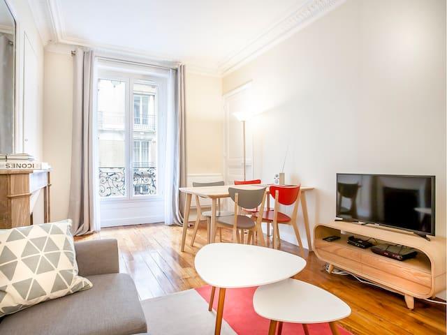 Entire apartment, 538 sq. ft., Paris 15th arrondisement