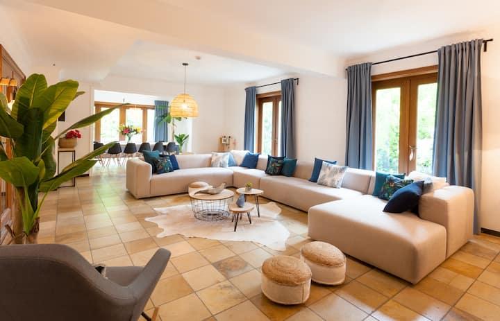 Vakantiehuis Elisa- karaktervolle villa in Limburg