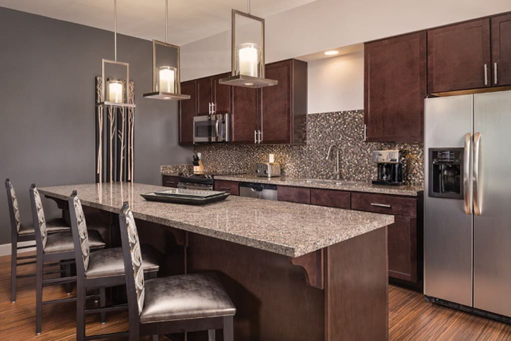 Nice large kitchen