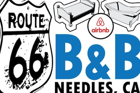 Route 66 B&B Private (1 bedroom) - Needles - Haus