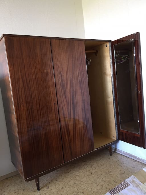 Cabinet with the mirror