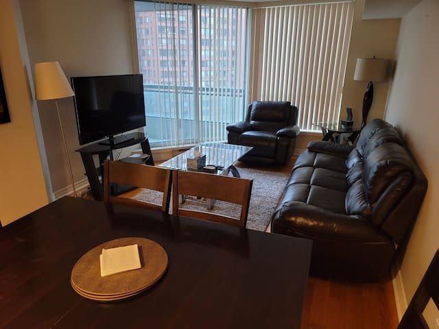 Spacious 2 bedroom,heart of downtown