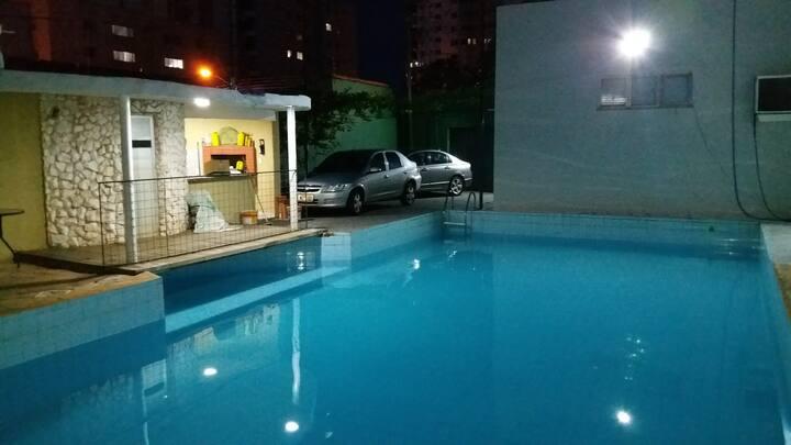 Casa de Temporada com piscina