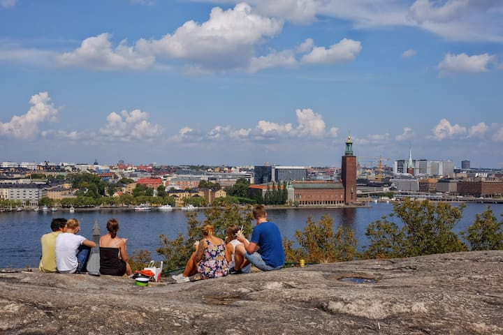 Amazing apartment with great location at Södermalm