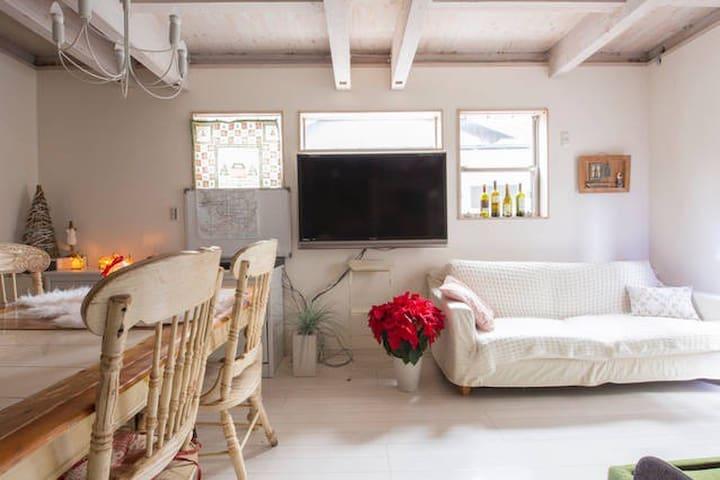 Wide living room in Dream Hoom30㎡ !