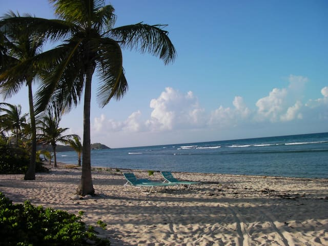 Toes in the Water, Sea View 2 BR condo - St. Croix - Condomínio