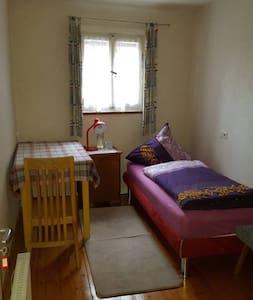 Einzelzimmer im Zentrum, 5 Gehminuten zum Outlet - Metzingen - Apartamento