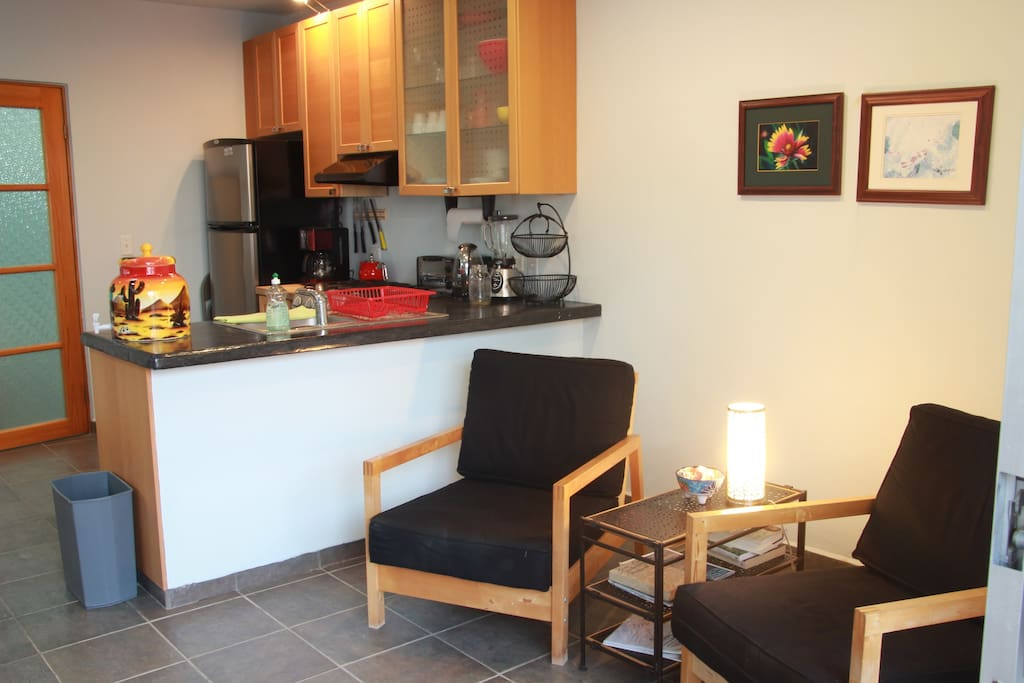 Living/kitchen/eat in