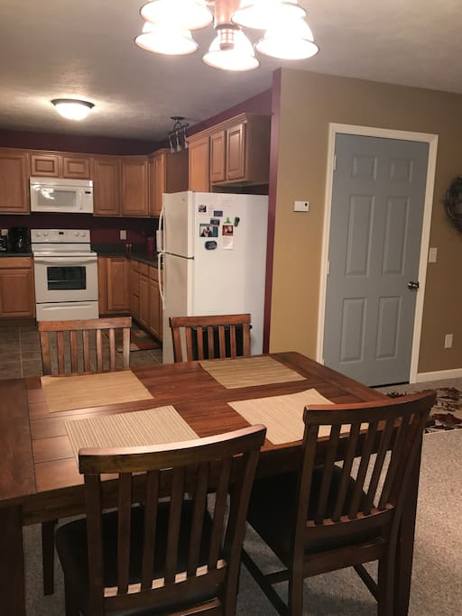 4-place dining table
