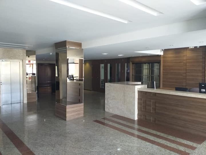 Hotel Próximo do Centro Curitiba c/ Ar e Garagem