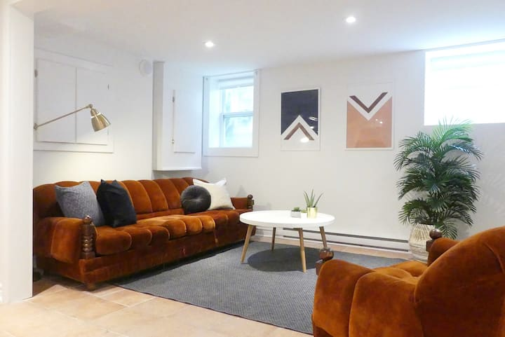 Trendy & Central Two Bedroom + Parking!