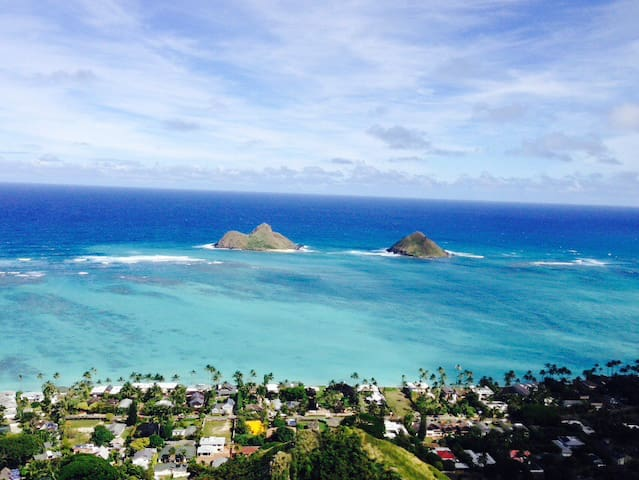 One bedroom in Kailua near beaches - Kailua - Casa
