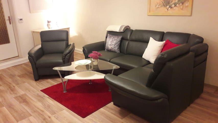 Wohnung mit gemütlichen  Innenhof