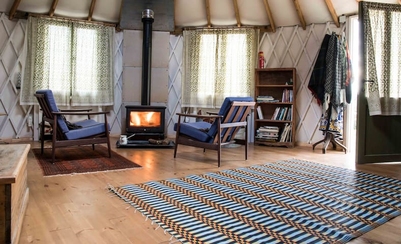 charming yurt in the heart of nature - Klil - Jurte