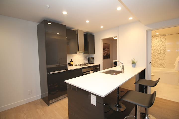 Modern Newly Built One Bedroom at the heart of DT