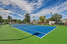 Prepare for your next US Open appearance on the tennis courts.
