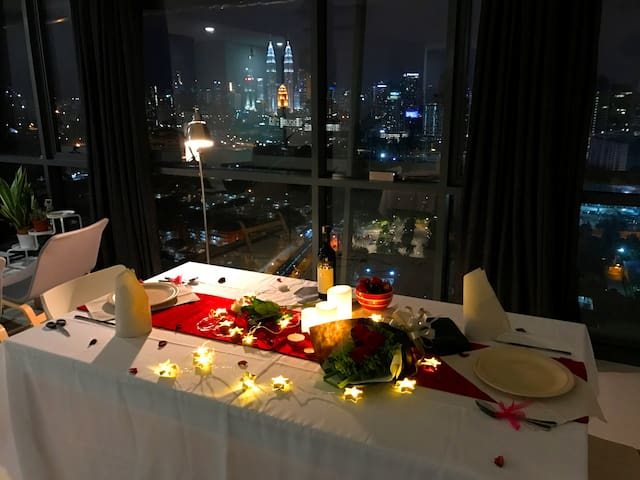 Excellent KL City View, 2 rooms, Near KL - Kuala Lumpur - Lejlighed