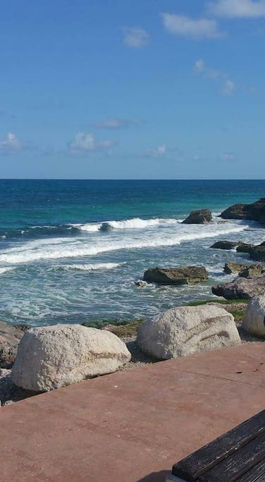 Beautiful beaches within steps of this location
