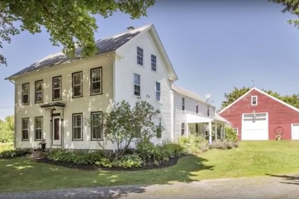 1730's restored farmhouse