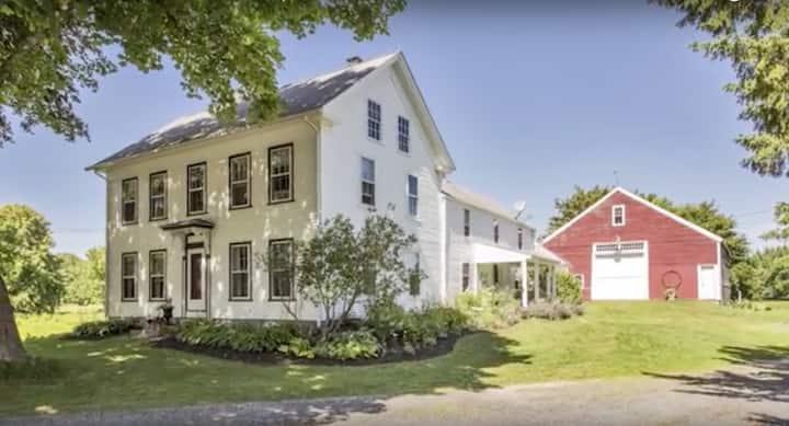 Old Schoolhouse Farm- unique historic farmhouse
