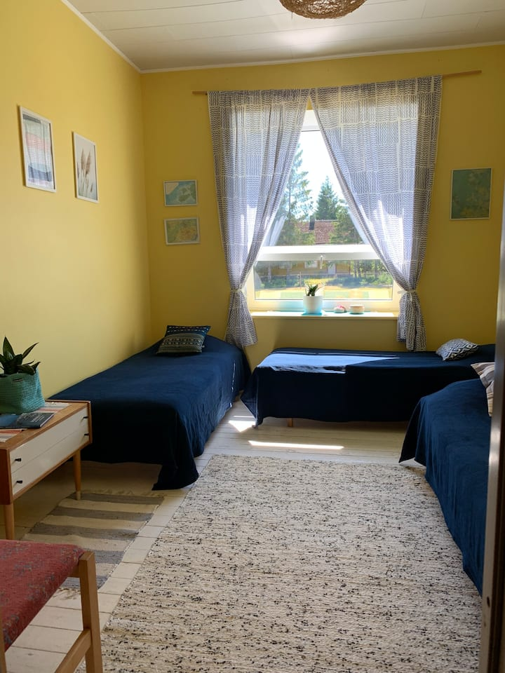 Hidden treasure in Vormsi - Yellow room