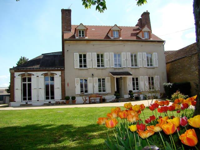 La Terrasse - Égreville - 一軒家