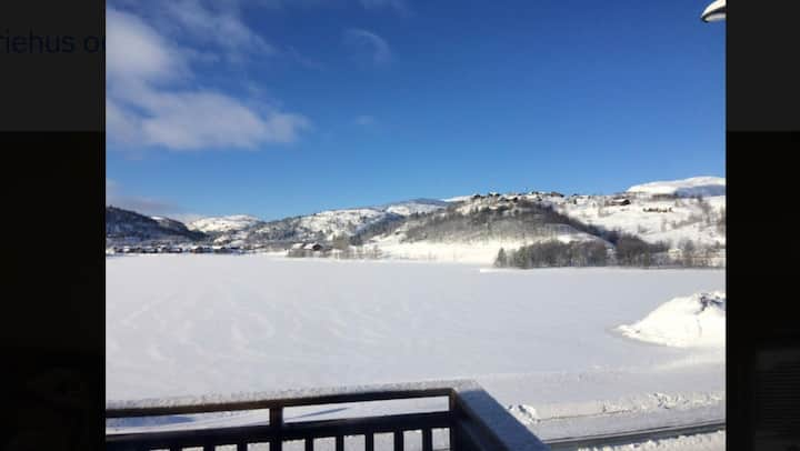 Sirdal, AMAZING lake view 400m from Ski Centre