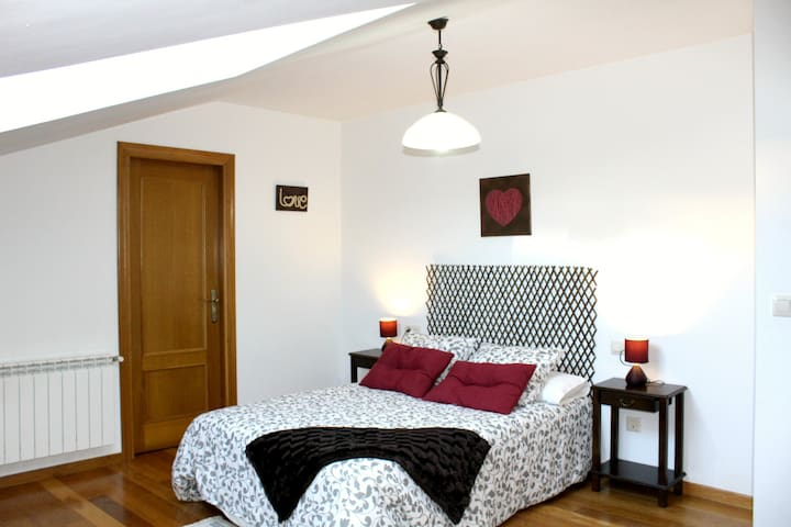 O Preguntoiro Double room with private bathroom - Vilagarcía de Arousa - Bed & Breakfast