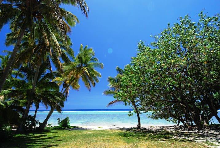Arorangi Beachfront Bungalow - Arorangi District