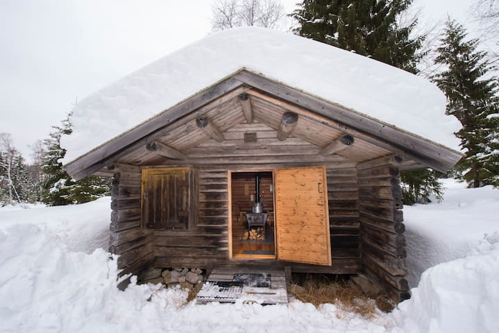 Charming loggers cabin