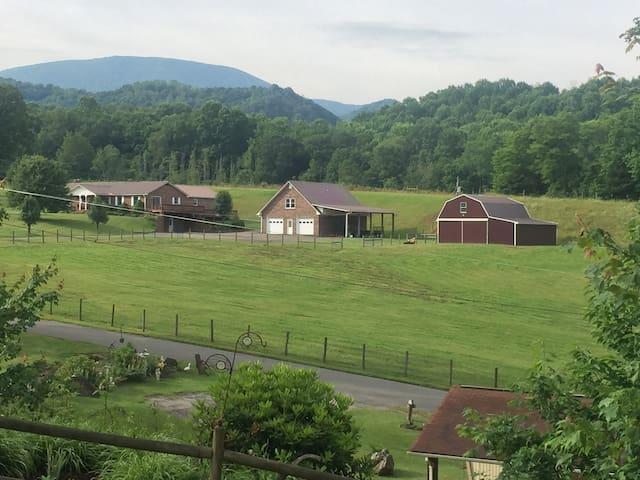Rich Mountain View near Boone and ASU
