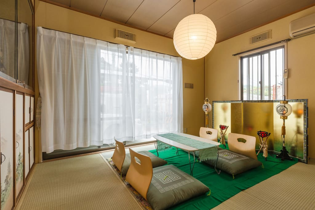 July7 newhouse open Japanese style tatami room