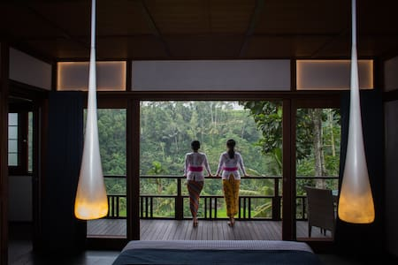 Suarapura Resort and Spa Damai - Ubud - Naturhytte