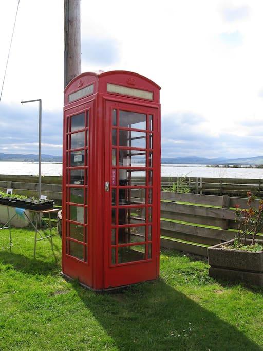 The village phonebox.