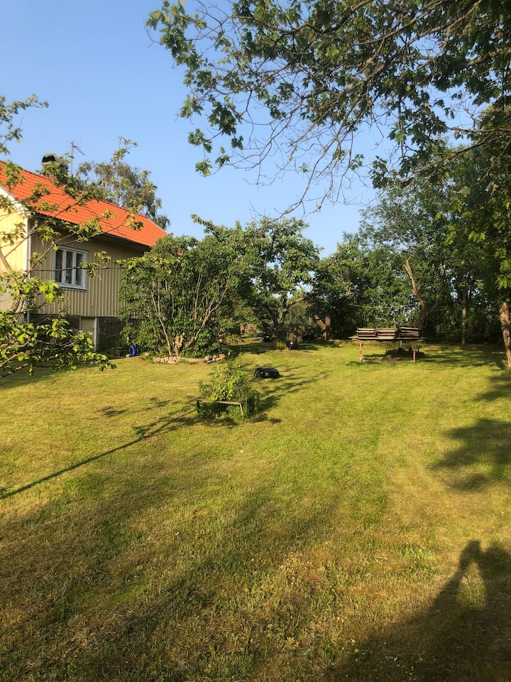 Old style  cottage house close to Lysekil 30 km